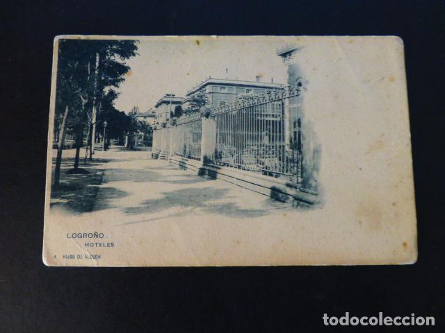 LOGROÑO HOTELES (Postales - España - La Rioja Antigua (hasta 1939))