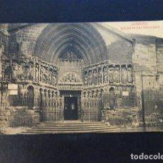 Postales: LOGROÑO LA RIOJA IGLESIA DE SAN BARTOLOME. Lote 286745758