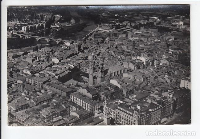 LOGROÑO.- AEREA. PANORÁMICA (Postales - España - La Rioja Antigua (hasta 1939))