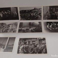 Postales: POSTALES DE LOGROÑO 1935-1936-1937-1938 DE JULIAN LOYOLA, 8 POSTALES. Lote 290288068