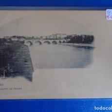 Postales: (PS-66527)POSTAL DE LOGROÑO-PUENTE DE PIEDRA.. Lote 293917483
