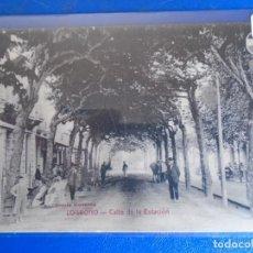 Postales: (PS-66537)POSTAL DE LOGROÑO-CALLE DE LA ESTACION.LIBRERIA MODERNA. Lote 293918808