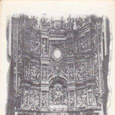 Postales: LOGROÑO, SANTO DOMINGO DE LA CALZADA CATEDRAL ALTAR MAYOR. ED. H. ORTEGA, FRIEDRICH BARCELONA Nº 1. Lote 295860753