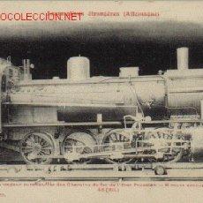 Postales: TARJETA POSTAL DE LES LOCOMOTIVES ÉTRANGÈRES (ALLEMAGNE)-COLLECTION F. FLEURY). Lote 26353469