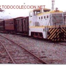 Postales: 7F-57. TRACTOR DIESEL HIDRAÚLICO Nº 1324. Lote 22639884