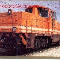 Postales: 7F-126. LOCOMOTORA DIESEL 311-001-2. Lote 682405