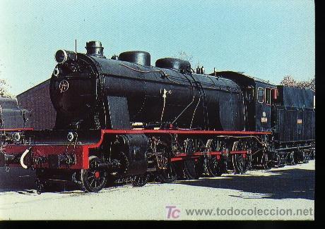 POSTAL - RENFE - LOCOMOTORA 1400 (Postales - Postales Temáticas - Trenes y Tranvías)