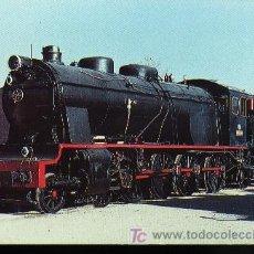 Postales: POSTAL - RENFE - LOCOMOTORA 1400. Lote 3238604