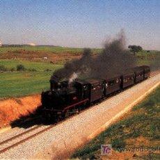 Postales: LOCOMOTORA Nº 604 TREN HISTORICO DE CATALANES MONISTROL EDICION DE EUROFER AMIGOS DEL FERROCARRIL . Lote 4332013