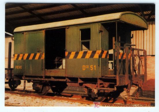 FUGÓN Nº 777 EDICION DE EUROFER AMIGOS DEL FERROCARRIL (Postales - Postales Temáticas - Trenes y Tranvías)