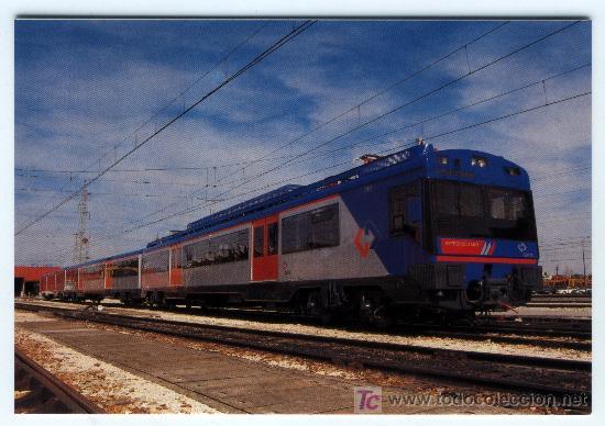 LOCOMOTORA Nº 619 VALLADOLID EDICION DE EUROFER AMIGOS DEL FERROCARRIL (Postales - Postales Temáticas - Trenes y Tranvías)