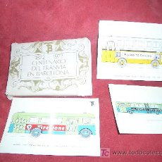Postales: CENTENARIO DEL TRANVIA EN BARCELONA 1872-1972. Lote 5233969