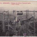 Postales: BARCELONA. FERROCARRIL AEREO. TIBIDABO.FOTOGRAFO L.ROISIN. Lote 25212022