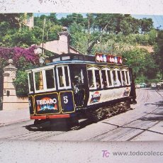 Postales - barcelona tramvia-blau cotxe serie 5-10, fet a can girona (sin circular) - 25301277