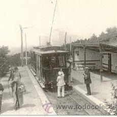 Postales: 7F-976. TRANVÍA EN SAN SEBASTIAN AÑO 1910. REPRODUCCIÓN. Lote 20812581