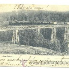 Postales: POSTAL LJAN BROEN .. FERROCARRIL – TREN . Lote 26601508