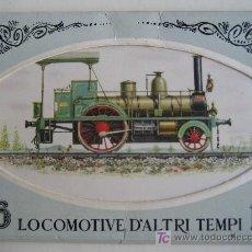 Postales: LOCOMOTIVE D'ALTRI TEMPI. LOCOMOTORAS DE OTROS TIEMPOS. 16 POSTALES. Lote 24191834