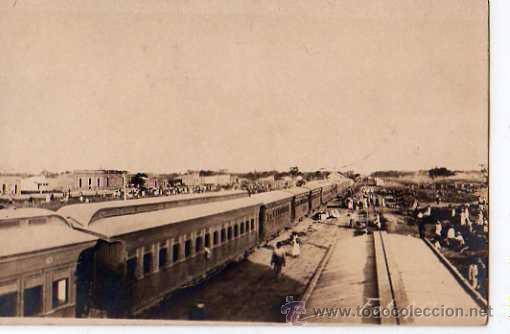 POSTAL FOTOGRAFICA DE UN FERROCARRIL , FOT. A.G.8 (Postales - Postales Temáticas - Trenes y Tranvías)