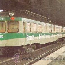 Postales: 7F-40. ANTIGUA RED DE F.C. DE SARRIA A BARCELONA. Lote 23175830