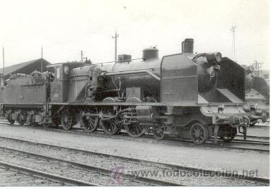 7F-942. LOCOMOTORA VAPOR 231/4013. MIRANDA DE EBRO 1966 (Postales - Postales Temáticas - Trenes y Tranvías)