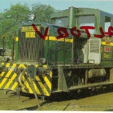 Postales: POSTAL EUROFER Nº 97 TRACTOR DIESEL 301-002-2. Lote 14033533