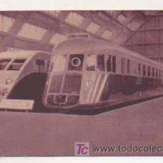 Postais: EL TREN RENAULT. EXPOSICION BRUSELAS 1935.. Lote 14844797