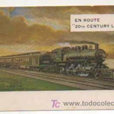 Postales: EN ROUTE 20TH CENTURY LIMITED. FERROCARRIL. . Lote 14860637