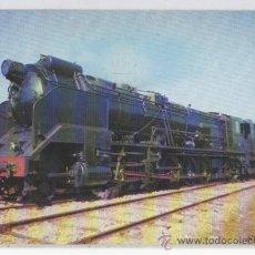 Postales: TARJETA POSTAL COLECCIÓN RENFE LOCOMOTORA SANTA FE TRENES TREN. Lote 14889508