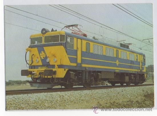 TARJETA POSTAL LOCOMOTORA 269 TRENES TREN RENFE (Postales - Postales Temáticas - Trenes y Tranvías)