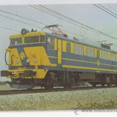 Postales: TARJETA POSTAL LOCOMOTORA 269 TRENES TREN RENFE . Lote 14889613