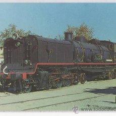 Postales: TARJETA POSTAL LOCOMOTORA GARRAT TRENES TREN RENFE . Lote 14889622