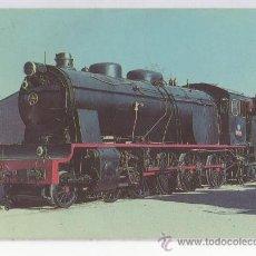 Postales: TARJETA POSTAL LOCOMOTORA 1400 TRENES TREN RENFE . Lote 14889629