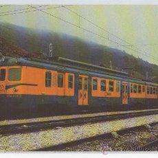Postales: TARJETA POSTAL LOCOMOTORA UNIDADES ELECTRICAS 436-437-438 TRENES TREN RENFE . Lote 14889651