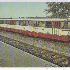 Postales: TARJETA POSTAL FERROBUS TREN TRENES RENFE . Lote 14889684
