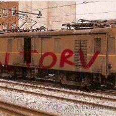 Postales: POSTAL A COLOR Nº 366 FURGON ELECTRICO 430 002 EX NºS FM 11 13 EX BILBAO PORTUGALETE EUROFER. Lote 15713184