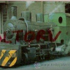 Postales: POSTAL A COLOR Nº 417 ALTOS HORNOS DE VIZCAYA LOCOMOTORA VAPOR 0 2 0 T SERIE EUROFER. Lote 15713388