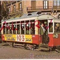 Postales: POSTAL A COLOR 14 TRAM VIES DE BARCELONA COTXE 258 SERIE 227 285 EUROFER. Lote 15713550