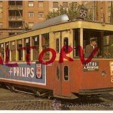 Postales: POSTAL A COLOR 57 TRAMVIES DE BARCELONA COTXE 836 SERIE 836 A 857 EUROFER. Lote 15713603