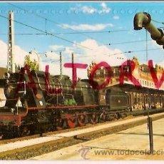 Postales: POSTAL A COLOR 135 LOCOMOTORA VAPOR 240 2215 EUROFER. Lote 15713726