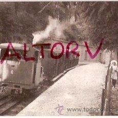 Postales: POSTAL A COLOR Nº 4101 FC CREMALLERA MONISTROL MONTSERRAT LOCOMOTORA VAPOR Nº 6 JULIAN FUCHS FOTO FR. Lote 16532717