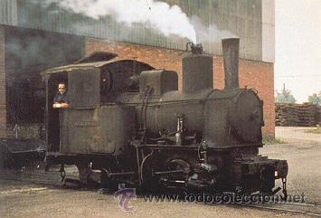 7F-691. POSTAL FERROCARRILES. NUEVA MONTAÑA QUIJANO S.A. (SANTANDER) (Postales - Postales Temáticas - Trenes y Tranvías)