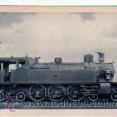 Postales: POSTAL FERROCARRILES ESPAÑOLES LOCOMOTORA-TENDER SERIE 620/641 DE M.Z.A.. Lote 17626529