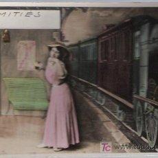 Postales: POSTAL FRANCESA. FRANQUEADO Y FECHADO EN FRANCIA EN 1908.. Lote 18672642