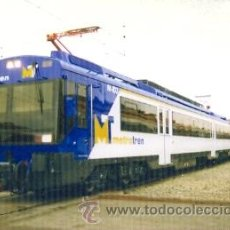 Postales: 7F-2001. POSTAL UNIDAD ELÉCTRICA 440 MODERNIZADA. VENDIDA A METROTREN (CHILE). Lote 184546255