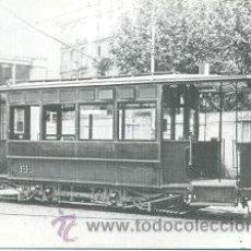 Postales: 7F-2025. POSTAL TRANVÍA Nº 168. TRANVÍAS DE BARCELONA. Lote 96615203