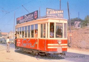 7F-2061. POSTAL TRAMVÍA Nº 2. MATARÓ-ARGENTONA. MATARÓ 1960 (Postales - Postales Temáticas - Trenes y Tranvías)