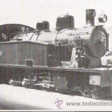 Postales: POSTAL FERROCARRIL OLOT A GIRONA - LOCOMOTORA A VAPOR Nº 22. . Lote 94331750