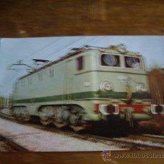 Postales - POSTAL TREN LOCOMOTORA ELECTRICA RENFE ED, MINUESA AÑO 1961 - 20389377