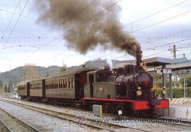 7F-2183. POSTAL LOCOMOTORA DE VAPOR 1-3-1- T. Nº 22 (Postales - Postales Temáticas - Trenes y Tranvías)
