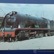 Postales: LOCOMOTORA 1800 - COLECCION RENFE - 1983. Lote 26320023